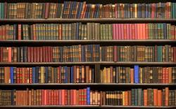 Bookcase clipart