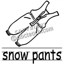 Ski clipart snowboard gear