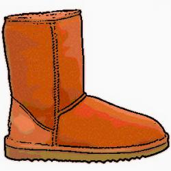 Boots clipart uggs