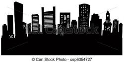 Miami clipart boston skyline