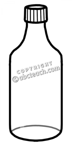 Container clipart glass bottle