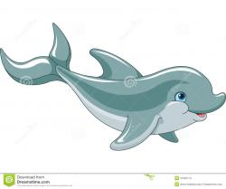 Dolphines clipart dolphin swimming
