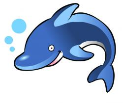 Dolphines clipart funny