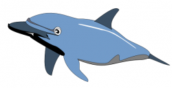 Dolphines clipart sad