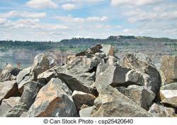 Boulder clipart quarry