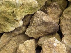 Boulder clipart gravel pile
