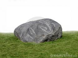 Boulder clipart big rock