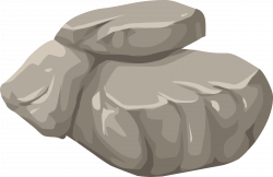 Boulder clipart rubble