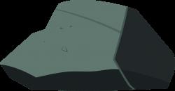 Boulder clipart vector