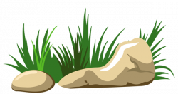 Boulders clipart stepping stone