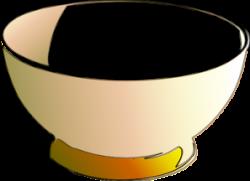 Bowl clipart