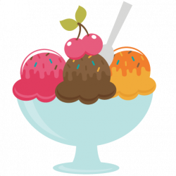 Banana Split clipart bowl