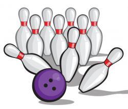 Bowling clipart cartoon
