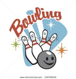 Bowling clipart silly