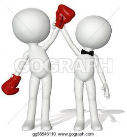 Boxer clipart human