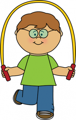 Jump clipart jumping rope