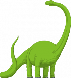 Extinct clipart brachiosaurus
