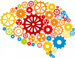 Gears clipart creative mind