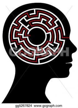 Brains clipart maze