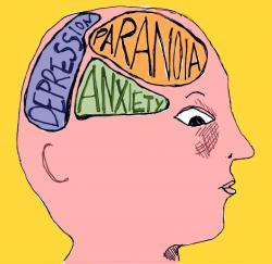 Brains clipart mental illness