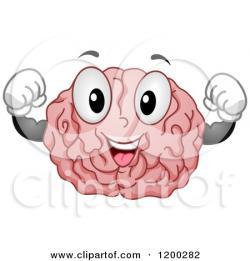 Brains clipart strong brain