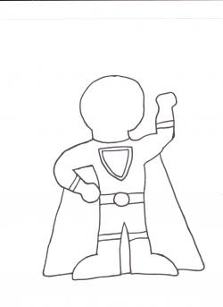 Brains clipart superhero