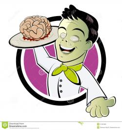 Brains clipart zombie brain
