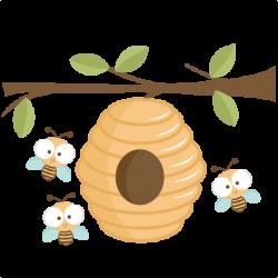 Bee Hive clipart cute