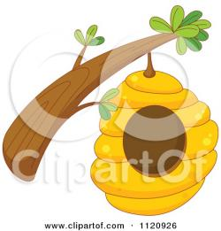 Bee Hive clipart bee house