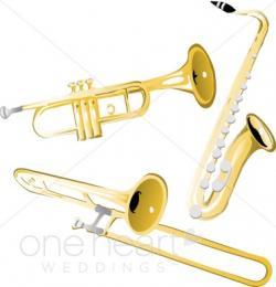 Instrument clipart brass instrument