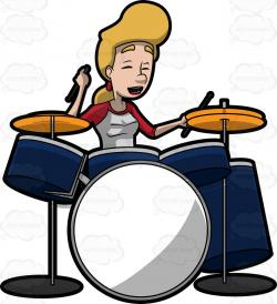 Brass clipart drums