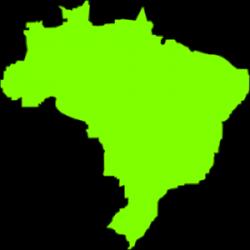 Brazil clipart brazil map