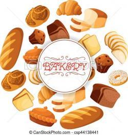 Bread clipart bakery food