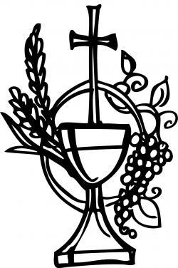 Grape clipart communion chalice