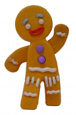 Gingerbread clipart animated