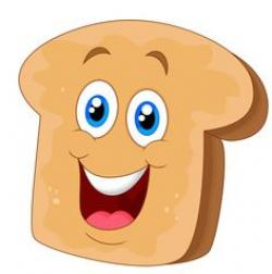 Toast clipart face