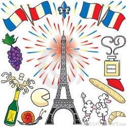 France clipart french language