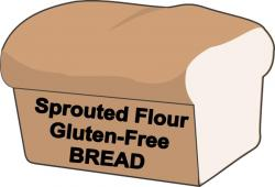 Bread clipart gluten