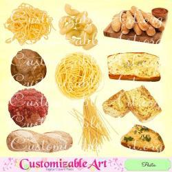 Sause clipart italian food