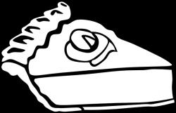 Tart clipart slice pie