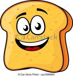 Toast clipart vector