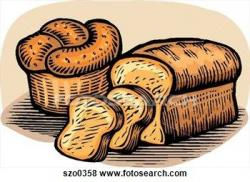 Bread Roll clipart cereal