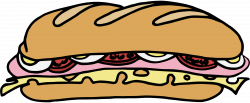 Drawn sandwich cheese sandwich