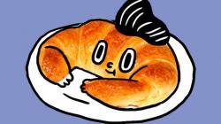 Bread Roll clipart makanan