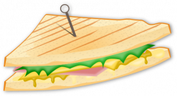 Grilled Cheese clipart transparent