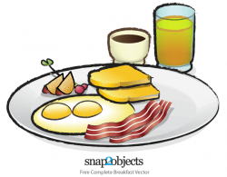 Smiley clipart breakfast