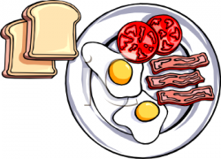 Bacon clipart toast