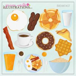 Oatmeal clipart breakfast item
