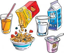 Cereal clipart breakfast item