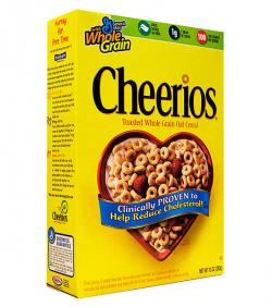 Cereal clipart cheerios